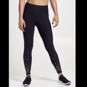 SOULCYCLE Grommet Black leggings